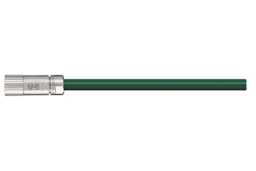 readycable® servo cable acc. to Baumüller standard 324781 (5 m), 15 A base cable, PVC 7.5 x d