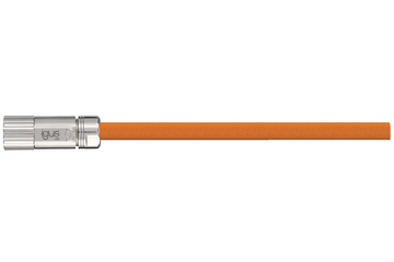 readycable® servo cable acc. to Baumüller standard 324783 (10 m), 15 A base cable, PVC 10 x d