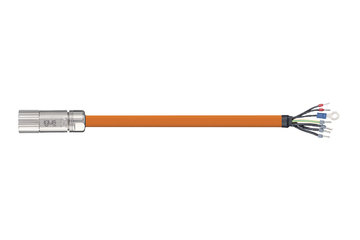 readycable® servo cable acc. to Beckhoff standard ZK4000-2112-xxxx, base cable PUR 7.5 x d