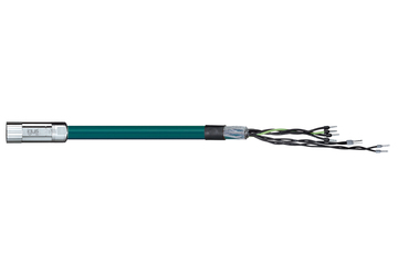 readycable® servo cable acc. to LTi DRIVES standard KM3-KSxxx-24A, base cable, PVC 7.5 x d