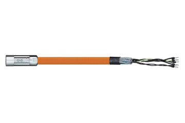 readycable® motor cable acc. to Parker standard iMOK43, base cable iguPUR 15 x d