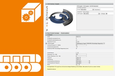 CAD configurator for circular motion